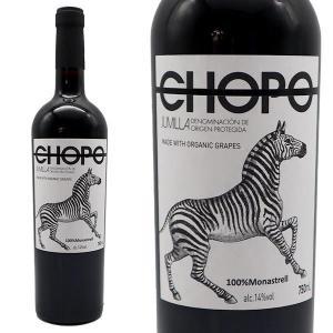 チョポ 100% モナストレル 2016年 750ml (スペイン 赤ワイン)