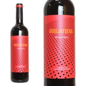 イランダ モナストレル 2015年 ボデガス・アルセーニョ 750ml (スペイン 赤ワイン)