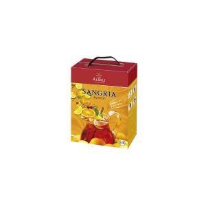 ヴィニャ・アルバリ サングリア 7% 3Lパック (赤ワイン・スペイン)