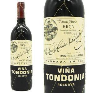 ロペス デ エレディア ヴィーニャ トンドニア レゼルヴァ 2008年 ロペス デ エレディア元詰 750ml スペイン 赤ワイン|うきうきワインの玉手箱