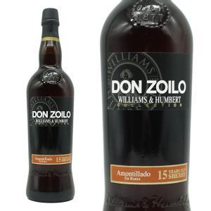 ウイリアム・ハンバート コレクション・アモンティヤード ミディアム・ドライ 12年 (白ワイン/シェリー酒・スペイン)