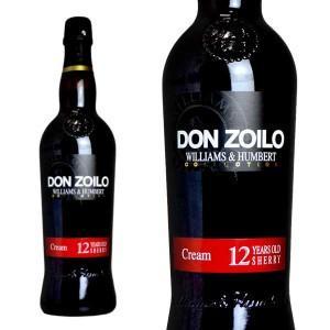 ウイリアム・ハンバート コレクション  ドンソイロ クリーム 12年 (白ワイン/シェリー酒・スペイン)