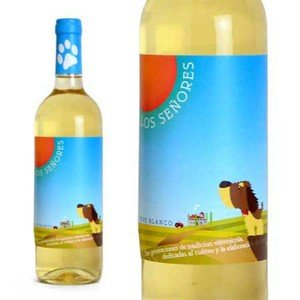 ロス・セニョーレス ブランコ ヴィニェドス・アルデアヌエバ社 (スペイン・白ワイン)|500円均一ワイン