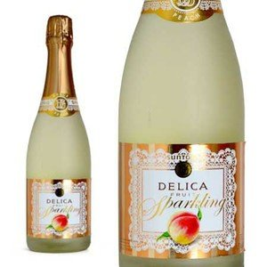 サントリー デリカ フルーツスパークリング ピーチ (日本・スパークリングワイン)|888円均一ワイン|wineuki