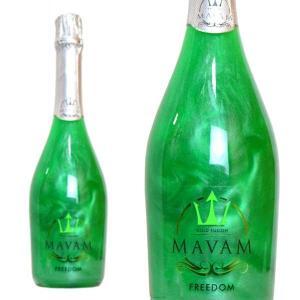 マバム フリーダム ゴールドフュージョン ボデガス・ビタル・デル・サズ 750ml (スペイン ラメ入りスパークリングワイン)|wineuki