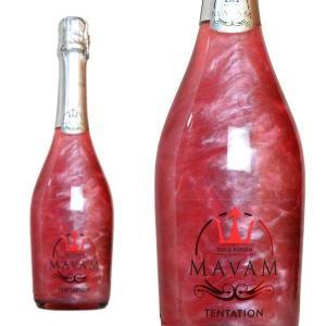 マバム テンテーション ゴールド・フュージョン ボデガス・ビタル・デル・サズ 750ml (スペイン ラメ入りスパークリングワイン)|wineuki