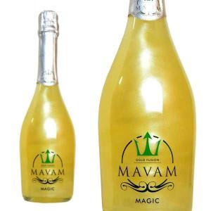 マバム マジック ゴールドフュージョン ボデガス・ビダル・デル・サズ 750ml (スペイン ラメ入りスパークリングワイン)|wineuki