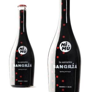 ニム サングリア スパークリング レッド サングリア 750ml (スペイン サングリア スパークリングワイン)|wineuki