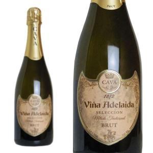 カバ ヴィーニャ・アデライダ ブリュット ボデガス・ロペス・モレナス社 750ml (スペイン スパークリングワイン 白) wineuki