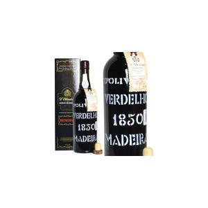 マディラ ヴェルデーリョ ヴィンテージ 1850年 20% 750ml ペレイラ・ドリヴェイラ社 (ポルトガル・ポートワイン) wineuki