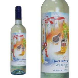 テッラ・ノッサ ヴィーニョ・ヴェルデ NV ソジェヴィヌス・ファイン・ワインズ 750ml 2018年収穫分 (ポルトガル 白ワイン 微発泡) wineuki