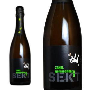 ツァーヘル ゲミシュターサッツ ゼクト 750ml (オーストリア スパークリングワイン 白) wineuki