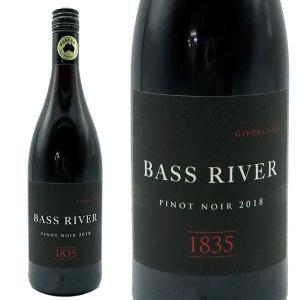 バスリバー 1835 ピノ・ノワール 2016年 750ml (オーストラリア 赤ワイン)|wineuki