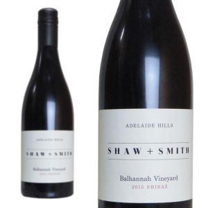 ショウ・アンド・スミス バルハンナヴィンヤード シラーズ 2015年 750ml 正規 (オーストラリア 赤ワイン)|wineuki