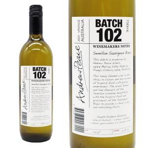 ワインメーカーズノート セミヨン ソーヴィニヨン・ブラン バッチ102 2017年 アンドリュー・ピース 750ml (オーストラリア 白ワイン)|wineuki