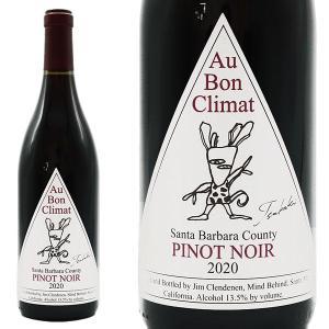オー・ボン・クリマ ピノ・ノワール・サンタ・バーバラ・カウンティ・ツバキラベル 2019年 750ml 正規 (カリフォルニア 赤ワイン)|うきうきワインの玉手箱