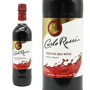 カルロ・ロッシ オーストラリア スムース レッドワイン 720ml ペットボトル (アメリカ 赤ワイン)|wineuki