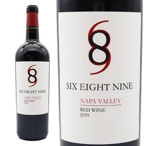 ワイン 赤ワイン シックス エイト ナイン セラーズ ナパヴァレー レッド 2019年 750ml  アメリカ カリフォルニア|うきうきワインの玉手箱