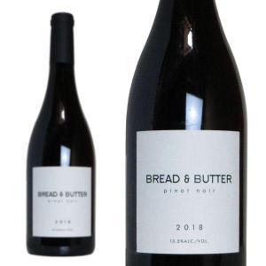 ブレッド&バター ピノ・ノワール 2019年 750ml 正規 (アメリカ カリフォルニア 赤ワイン)|うきうきワインの玉手箱