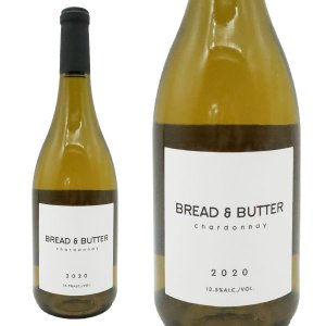 ブレッド&バター シャルドネ 2019年 750ml (アメリカ カリフォルニア 白ワイン)|うきうきワインの玉手箱
