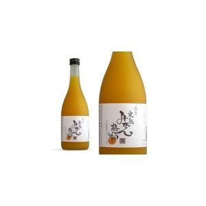 紀州 完熟みかん梅酒 〜早和果樹園 味まろしぼり使用〜 720ml (中野BC)