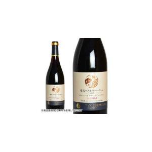 サントリー ジャパンプレミアム 産地シリーズ 塩尻マスカット・ベーリーA ミズナラ樽熟成 2006年 750ml (日本 赤ワイン 日本ワイン)|wineuki