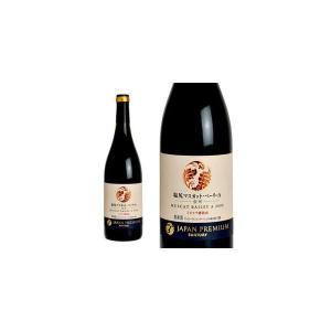 サントリー ジャパンプレミアム 産地シリーズ 塩尻マスカット・ベーリーA ミズナラ樽熟成 2009年 (日本・赤ワイン 日本ワイン)|wineuki