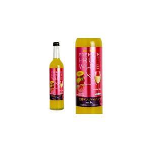 プレミアムフルーツワイン 完熟マンゴー&ピーチ 500ml ...