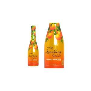 サントリー フルーツリー スパークリングワイン オレンジミモザ 360ml (日本 フルーツスパークリングワイン)