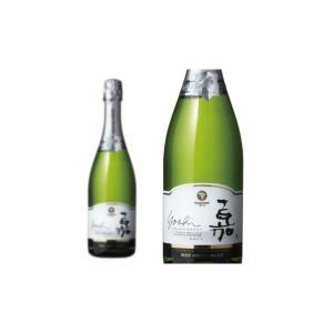嘉yoshi スパークリング シャルドネ 高畠ワイナリー 750ml (日本 スパークリングワイン ...