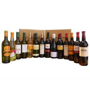 ワインセット うきうきワインの福袋!玉手箱オススメワイン20本セット 赤ワイン×白ワイン各10本コース 【送料無料】|wineuki