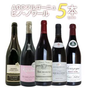 ワインセット ブルゴーニュ ピノ・ノワール 飲み比べ5本セット 送料無料