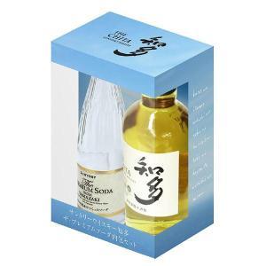 サントリーウイスキー 知多 43% 350ml ザ・プレミアムソーダ内包セット 箱入り 正規 (日本 グレーンウイスキー)|wineuki
