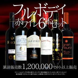 ワインセット ソムリエ厳選 フルボディ極上赤ワイン6本セット...