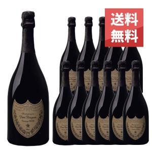 ドン ペリニヨン 2008年 750ml 12本セット 正規 (フランス シャンパン 白 箱なし) 送料無料|wineuki