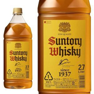 サントリー ウイスキー 新 角瓶 40% 2700ml ペットボトル 正規品 (ブレンデッドウイスキ...