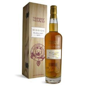 マーレイ・マクダビッド ミッション グレンリベット カスク・ストレングス 1977年 51.8% 700ml (シングルモルトスコッチウイスキー)|wineuki