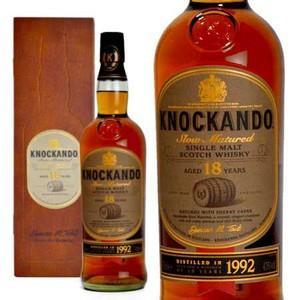 ノッカンドゥ 18年 スロー・マチュアード・シェリーカスク 1992年 700ml 43% マホガニー調木箱入り (シングルモルトスコッチウイスキー) wineuki