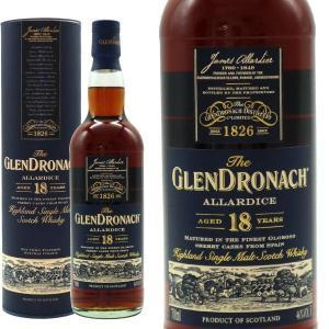 ザ・グレンドロナック 18年 アラーダイス 46% 700ml 箱入り 正規 (シングルモルト スコッチ ウイスキー)|wineuki
