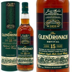 ザ・グレンドロナック リバイバル 15年 46% 700ml 箱入り 正規 (シングルモルト スコッチウイスキー) 送料無料|wineuki