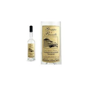 グラッパ・ディ・ブルネッロ・ペルティマリ サセッティ・リヴィオ家 (イタリア・グラッパ)|wineuki