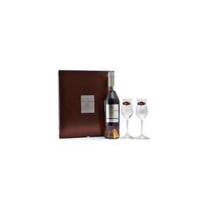 コニャック テセロン Lot53 40% 700ml リーデルグラス2脚付き 箱入り 正規 (フランス ブランデー コニャック) 送料無料|wineuki
