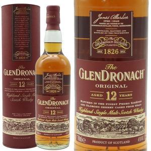 あすつく ザ・グレンドロナック 12年 シェリー・カスク 43% 700ml 箱入り 正規 (シングルモルト スコッチ ウイスキー)|wineuki