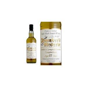 スプリングバンク 17年 ゴールドファウンダーズ ファウンダーズリザーブシリーズ ロッホデール社 46% 700ml (シングルモルトスコッチウイスキー)|wineuki