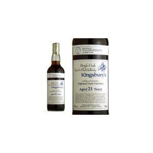 キングスバリー KSCバルデスピノ・シェリーカスク・シリーズ ハイランドパーク 21年 オロロソ樽 46% 700ml (シングルモルトスコッチウイスキー)|wineuki