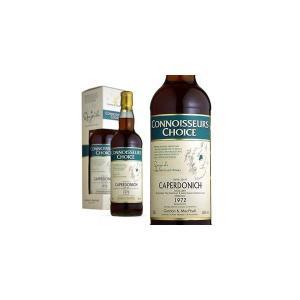 ゴードン&マクファイル コニサーズ・チョイス・シリーズ キャパドニック 1972年 46% 700ml 箱入り (シングルモルトスコッチウイスキー)|wineuki