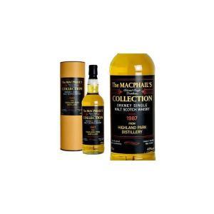 ザ・マクファイルズ・コレクション フロム・ハイランドパーク・ディスティラリー 1987年 43% 700ml ボックス入り (シングルモルトスコッチウイスキー)|wineuki