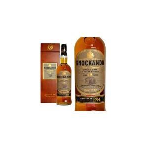 ノッカンドゥ 18年 スロー・マチュアード・シェリーカスク 1994年 700ml 43% マホガニー調木箱入り (シングルモルトスコッチウイスキー) wineuki