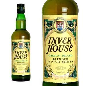 インバーハウス グリーンプライド ブレンデッドスコッチウイスキー 40% 700ml