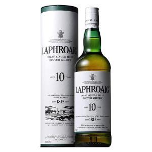 ラフロイグ 10年 43% 750ml 箱入り 正規輸入代理店品 (シングルモルトスコッチウイスキー)|wineuki
